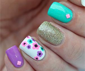 15 Beautiful Spring Nail Arts That You Should Copy - fashionsy.com