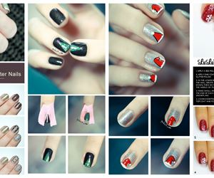 15 Fun and Easy Christmas Nail Tutorials You Need To See - fashionsy.com